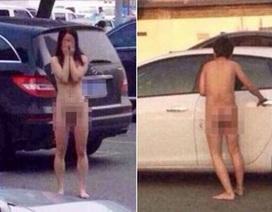 Phát hiện ngoại tình, vợ bỏ mặc chồng khỏa thân giữa bãi đậu xe