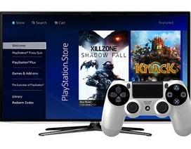 Smart TV Samsung sẽ chơi được game PlayStation mà không cần đầu chơi