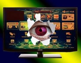 """Samsung cảnh báo smartTV có thể trở thành điệp viên """"nghe lén"""""""