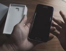 Samsung khoe video mở hộp Galaxy S6 edge theo phong cách độc đáo