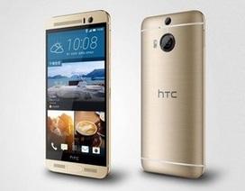 HTC One M9+ chính thức trình làng với cảm biến vân tay