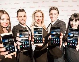 Huawei trình làng bộ đôi smartphone cao cấp với cảm biến máy ảnh 4 màu