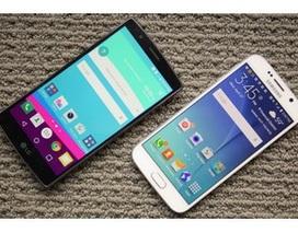 """Đặt LG G4 """"lên bàn cân"""" với loạt smartphone cao cấp"""