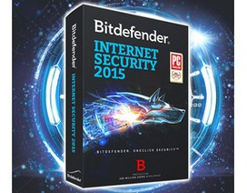 Thêm khuyến mãi bản quyền miễn phí gói bảo mật danh tiếng Bitdefender Internet Security