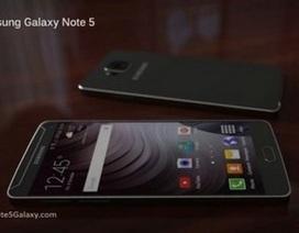 Ý tưởng thiết kế Galaxy Note 5 với màn hình 4K, khung viền kim loại