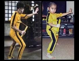 Cậu bé 5 tuổi tái hiện tài tình võ thuật của Lý Tiểu Long