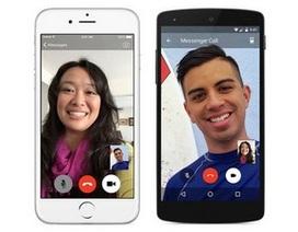 Chức năng gọi video trên Facebook Messenger có hơn 1 triệu lượt dùng chỉ sau 2 ngày