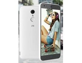ZTE ra mắt smartphone giá rẻ tích hợp bảo mật vân tay
