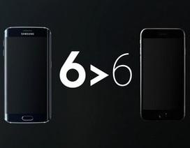 """Samsung lại """"dìm hàng"""" iPhone 6 trong quảng cáo mới nhất của mình"""