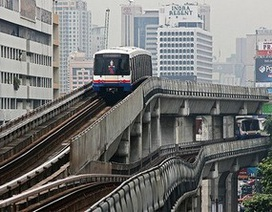 Hình ảnh các hệ thống tàu điện đô thị trên cao trên toàn thế giới