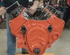 Quy trình đại tu động cơ V8 của Chevrolet