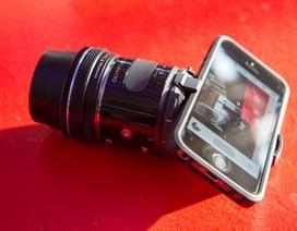 Cận cảnh ống kính biến smartphone thành máy ảnh chuyên dụng