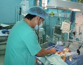 Sức khỏe của bé Nhân Hòa đang tiến triển tốt