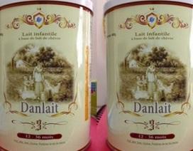 Đơn vị kiểm nghiệm độ đạm sữa dê Danlait 4% nói gì?