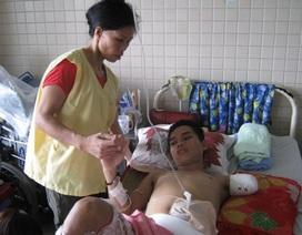 Gần 52 triệu đồng cứu sinh viên bị nghiền nát chân tay