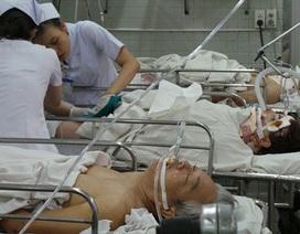 7 nạn nhân tử vong trong vụ xe khách tông xe bồn