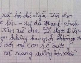 """""""Thuốc"""" nào """"trị"""" bé gái đẩy mẹ vào tù, viết đơn từ cha?"""