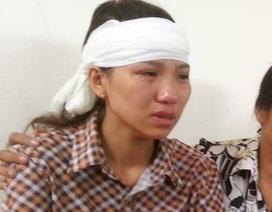 """Vụ """"quan tài diễu phố"""": Nước mắt người vợ trẻ chốn công đường"""