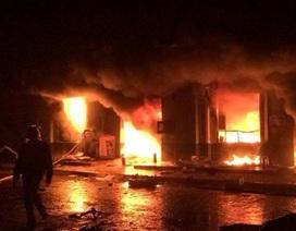 Khởi tố bị can trong vụ cháy chợ phố Hiến
