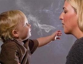 Bố mẹ hút thuốc, con tăng nguy cơ tim mạch