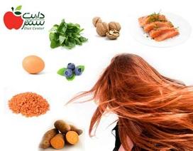 Những nhóm thực phẩm hàng đầu ngăn rụng tóc