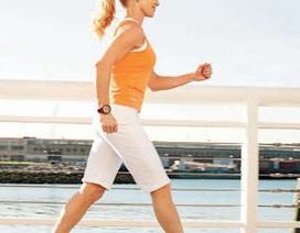Đi bộ có lợi cho sức khỏe giống như chạy