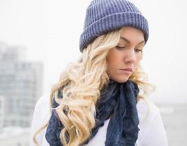 Mẹo giữ tóc chắc khỏe trong mùa đông