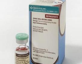 Mỹ: Thu hồi vắc xin phòng vi rút HPV