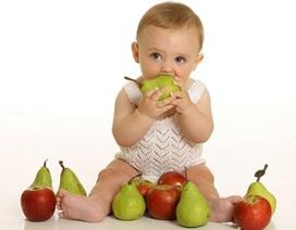 Lưu ý khi cho trẻ dưới 1 tuổi ăn hoa quả