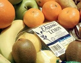 Thực phẩm hữu cơ không giúp giảm ung thư!