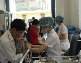 Bổ sung tiêm vắc xin sởi miễn phí cho trẻ từ 2-10 tuổi
