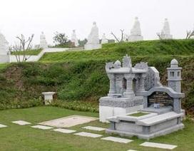 """Nghĩa trang trong phố quá tải, người đã khuất sẽ """"ở"""" đâu?"""