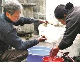 Nước sinh hoạt Hà Nội không lọc hết độc tố