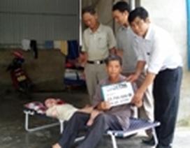 Hà Tĩnh: Gần 24 triệu đồng đến với người bố bệnh tật nuôi các con bị chất độc da cam