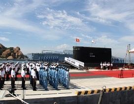 Lễ thượng cờ cấp Quốc gia 2 tàu ngầm Kilo Hà Nội và TP Hồ Chí Minh