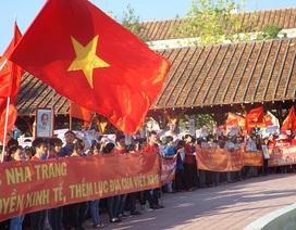 """Ra """"Quyết tâm thư 5 điểm"""" phản đối Trung Quốc"""