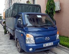 Hà Nội: Xe tải vận chuyển 1.500 lít dầu thải trái phép