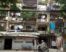 """Nơm nớp sống trong chung cư """"răng rụng"""" giữa lòng Hà Nội"""
