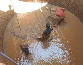 Nông dân Lý Sơn chi hàng trăm triệu đồng đào giếng chống hạn