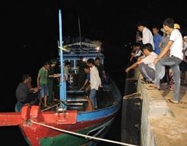 Tàu cá Lý Sơn lại bị tấn công ở Hoàng Sa