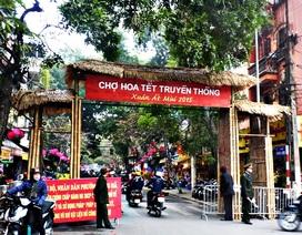 Chợ hoa Tết Hàng Lược - nét văn hóa đẹp giữa lòng Thủ đô