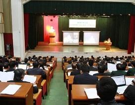 Bộ GD-ĐT tăng cường tổ chức hội nghị, hội thảo, tập huấn qua mạng