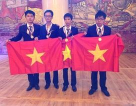 Việt Nam giành huy chương Vàng Olympic Hóa học quốc tế