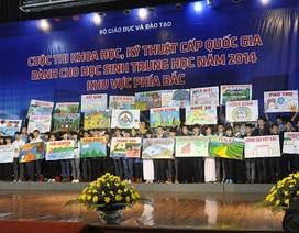 372 học sinh dự cuộc thi khoa học kĩ thuật cấp quốc gia