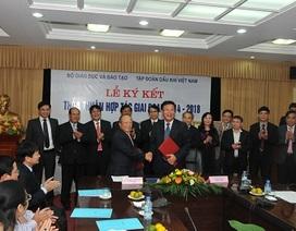 Bộ GD-ĐT tiếp tục hợp tác với tập đoàn Dầu khí Việt Nam