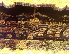 Xem 20 thắng cảnh xứ Huế xưa qua tranh sơn mài