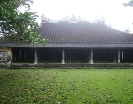 Đình làng Văn Xá - di tích quốc gia độc đáo cần sớm trùng tu và bảo vệ