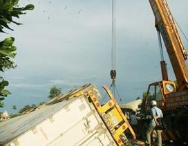 Bắt khẩn cấp tài xế xe container gây tai nạn nghiêm trọng