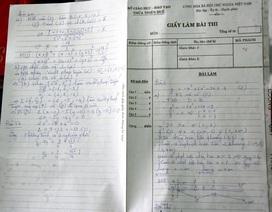 Cho giáo viên làm đề thi của học sinh để kiểm tra chất lượng?