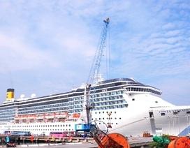 Siêu tàu du lịch Costa Atlantica lần đầu tiên đến Việt Nam